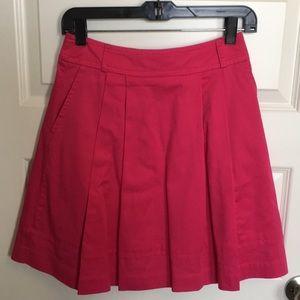 White House Black Market Pink Skirt